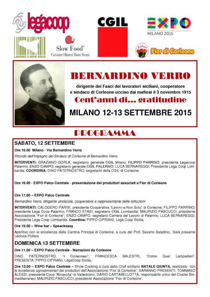 Verro Expo Milano 2015